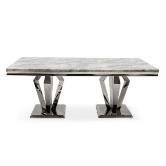 Marble Dining Table - Arturo Dining Table with Marble Top at Teds Interiors Newry