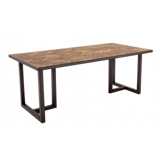 Vanya Dining Table 160cm Rectangle at Teds Interiors Newry