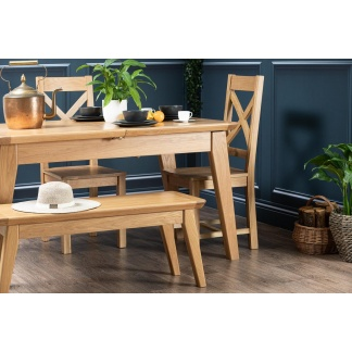 Lucca Collection | Large Extending Dining Table at Teds Interiors Newry