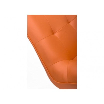 Orange Tampa Dining Chair close up at Teds Interiors Newry