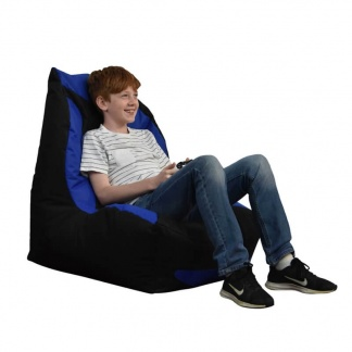 Sung Gaming Chair Blue and Black at Teds Interiors Newry - Lifestyle