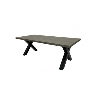 Dallas Dining Table 2200mm Grey at Teds Interiors Newry