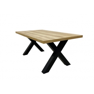 Dallas Dining Table 2200mm Oak at Teds Interiors Newry