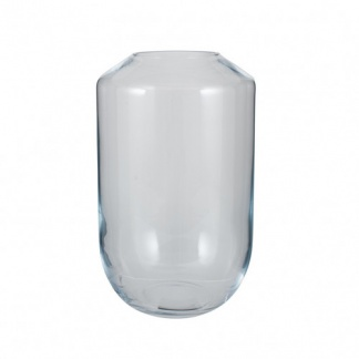 Clear Glass Hazel Vase Tall at Teds Interiors Newry