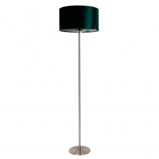 Charlotte Floor Lamp in Teal 158cm at Teds Interiors Newry
