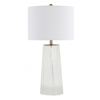 Jessa Table Lamp Glass 66cm at Teds Interiors Newry