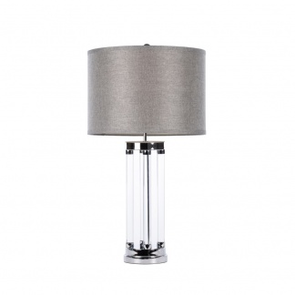 Venus Table Lamp with Grey Shade at Teds Interiors Newry - edit